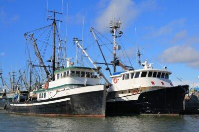 Vinilo Botes de pesca