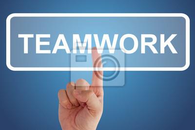 Botón Trabajo en equipo