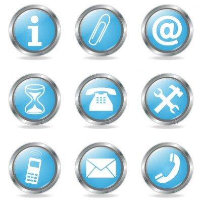 Botones de internet