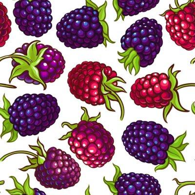 Vinilo boysenberry vector pattern