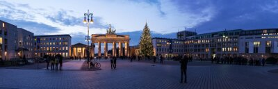 Vinilo Brandenburger Tor panorama