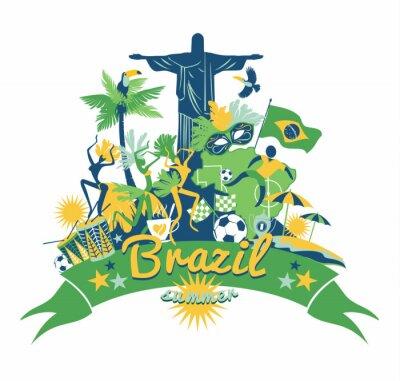 Vinilo Brasil fondo