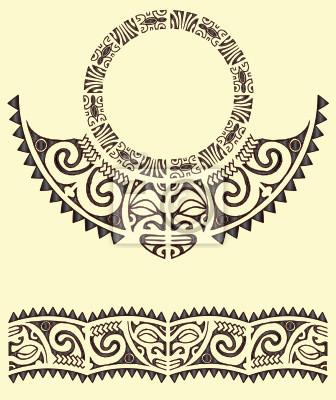Brazalete tribal maor vinilos para porttiles vinilos para la