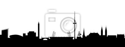 Vinilo Bremen Skyline