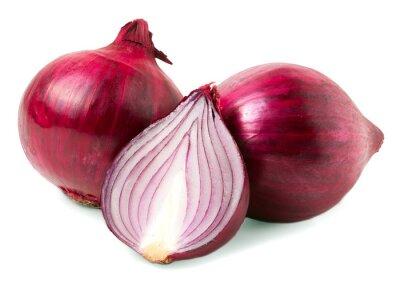 Vinilo Bulbo de cebolla roja