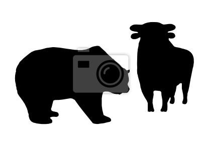 Vinilo Bull and Bear