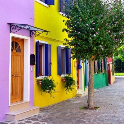 Vinilo Burano island, Venice.