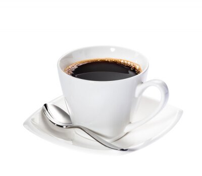 Vinilo Café Aislada
