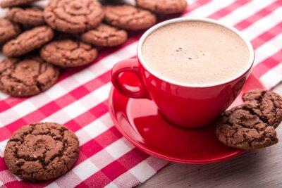 Vinilo Café y galletas