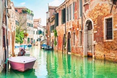 Vinilo Canal en Venecia, Italia.