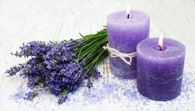 Vinilo candle, lavender and sea salt