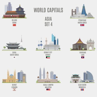 Vinilo capitales del mundo