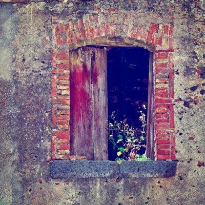 Vinilo Casas en ruinas