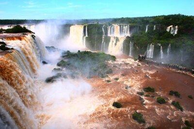 Vinilo Cascada / Cataratas del Iguazú en Argentina
