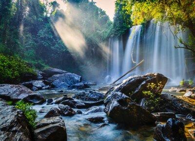 Vinilo Cascada tropical