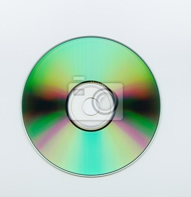 Vinilo CD en blanco