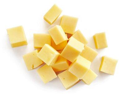 Vinilo cheese pieces