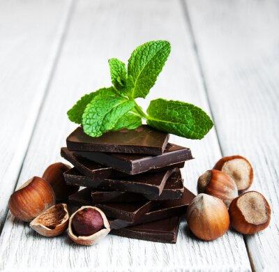 Vinilo Chocolate con nueces