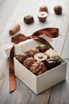 Vinilo chocolates