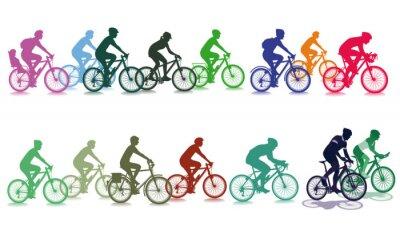 Vinilo Ciclismo en el grupo