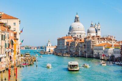 Vinilo Cielo nocturno en Venecia, Italia