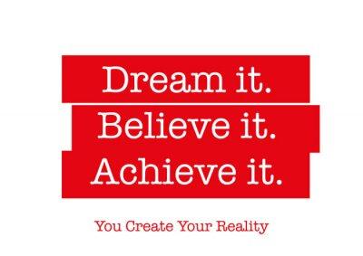 Vinilo Cita de motivación que le inspirará para ser exitoso. Palabras que inspiran su corazón, motivan su mente en la vida, creando éxito, logrando sus metas y superando sus temores.