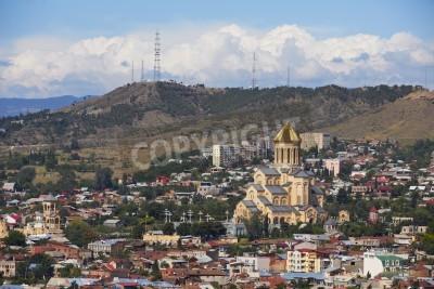 Vinilo City view on Tbilisi - Capital city of Georgia