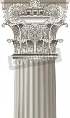 Vinilo classical column