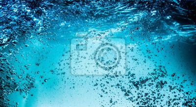 Vinilo Close up water