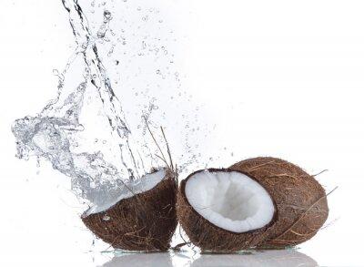 Vinilo Cocos con el chapoteo del agua