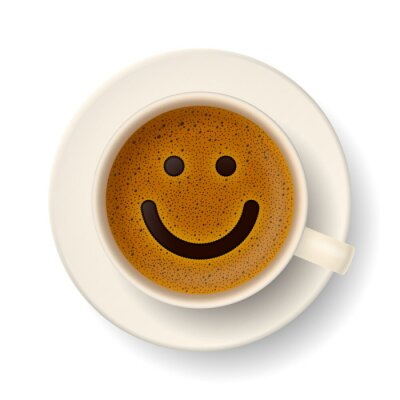 Vinilo Coffee cup for good mood