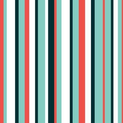 Vinilo Color hermoso patrón de vectores de fondo rayado. Se puede utilizar para el papel tapiz, rellenos de patrón, fondo de la página web, texturas de la superficie, en textiles, para el diseño del libro. I