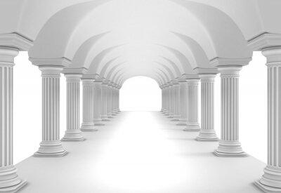 Vinilo Column Tunnel