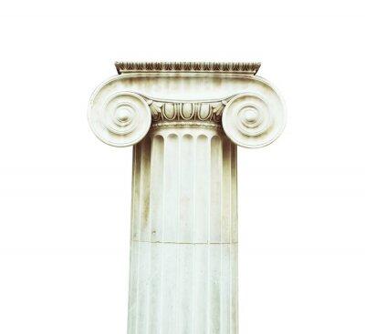 Vinilo Columna antigua en estilo dórico