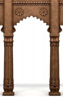 Vinilo Columna india tradicional Arco