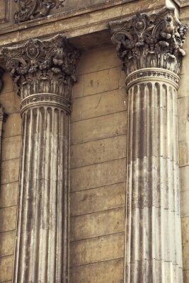 Vinilo Columnas