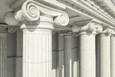 Vinilo Columnas. Orden jónico.