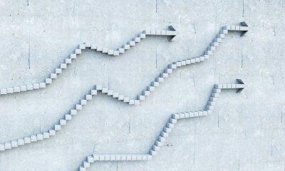 Vinilo Concepto de crecimiento y progreso