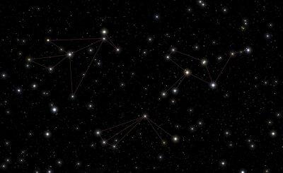 Vinilo Constelaciones de Phoenix, Tucana y Grus