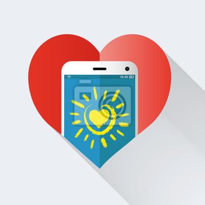 Vinilo Corazón App