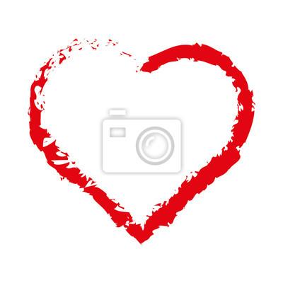 Corazón del bosquejo