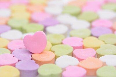 Vinilo Corazón rosado Cndy