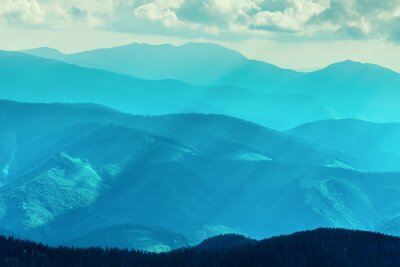 Vinilo Cordillera en verano