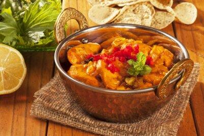 Vinilo Curry de pollo