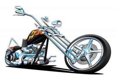 Vinilo Custom American Chopper Motocicleta
