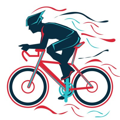 Vinilo cycling, bycicle, sports