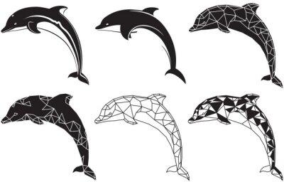 Vinilo delfines