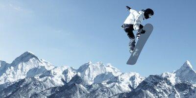 Vinilo Deporte Snowboard