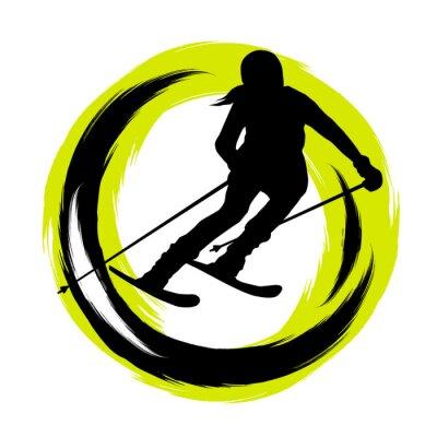 Vinilo Deportes de invierno - 23