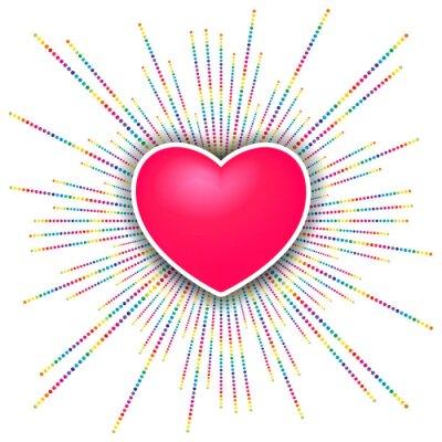 Vinilo día de san valentín feliz celebración de fondo